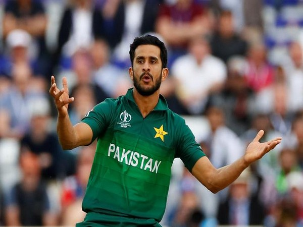 Pakistan right-arm pacer Hasan Ali