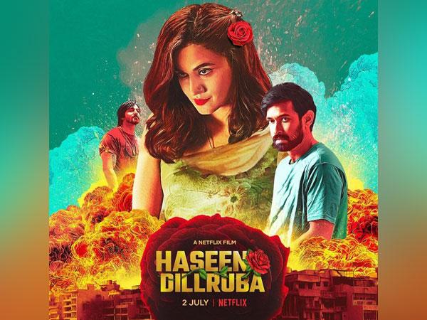Poster of 'Haseen Dillruba' (Image source: Instagram)