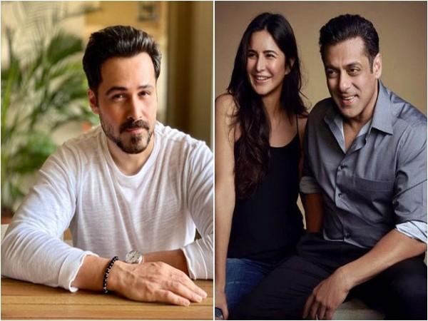 Emraan Hashmi, Katrina Kaif and Salman Khan (Image source: Instagram)