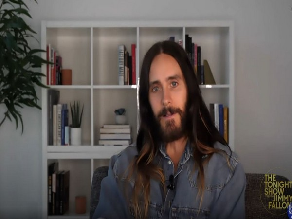 Jared Leto in a still from 'The Tonight Show' (Image courtesy: YouTube)