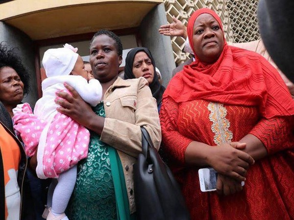 Kenyan lawmaker Zuleikha Hassan (R) (Photo/Hassan's Facebook account)
