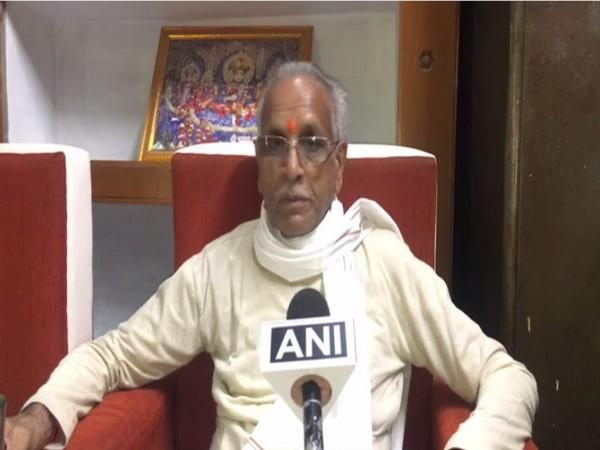 Shriram Janmabhoomi Teerth Kshetra Trust general secretary Champat Rai (Photo/ANI)