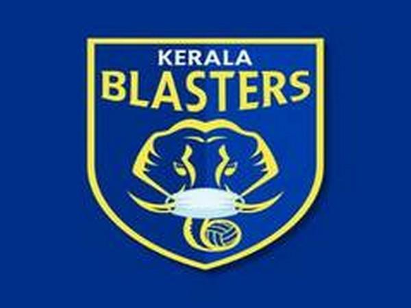 Kerala Blasters logo.
