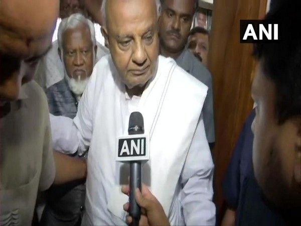 Janata Dal (Secular) national president HD Deve Gowda (File Photo/ANI)