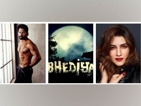 Varun Dhawan and Kriti Sanon team up for 'Bhediya' (Image Source: Instagram)