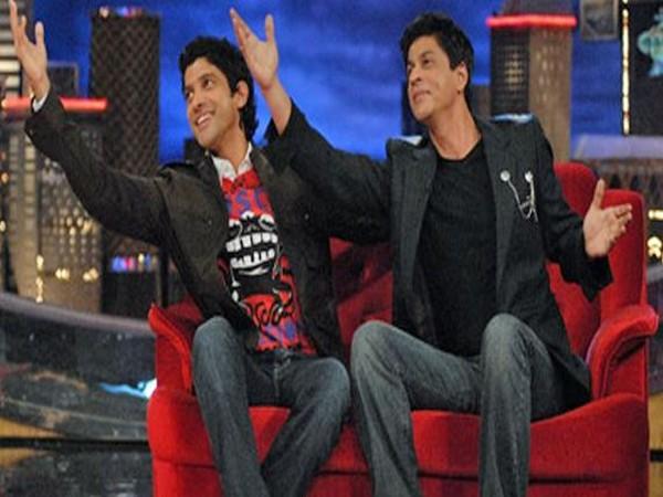 Farhan Akhtar, Shah Rukh Khan (Image Source: Twitter)