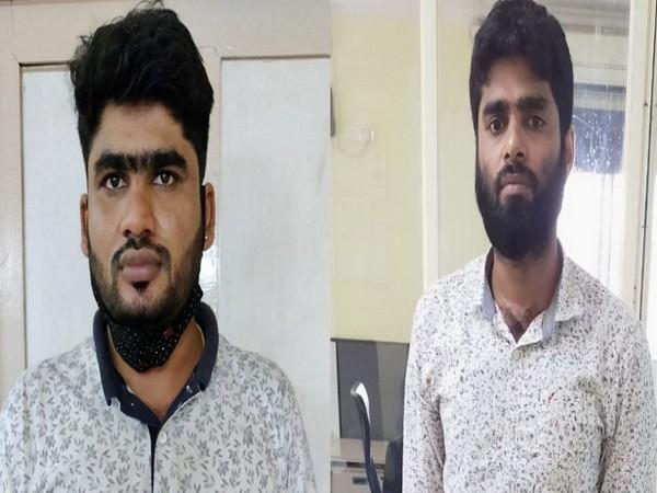 Arrested accused Gautham Viswanathan (27) and Ibrahim Mullatti Bin Mohammed Kutty (36) (Photo/ANI)