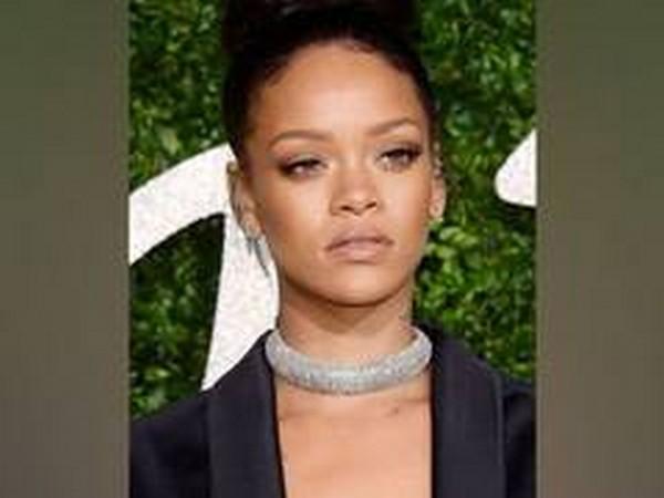 International pop star Rihanna