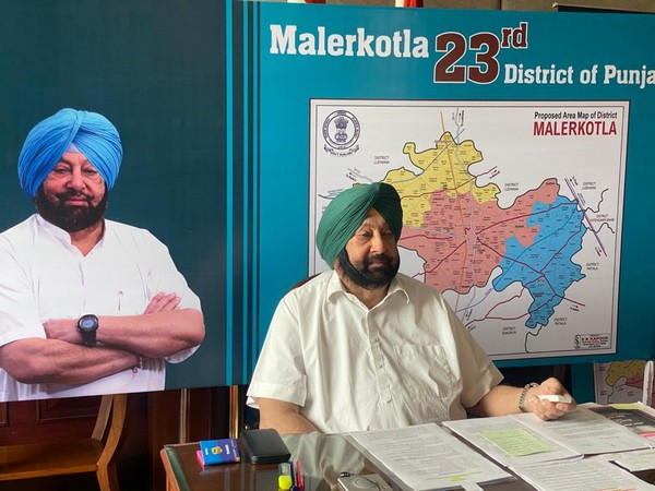 Punjab Chief Minister Captain Amarinder Singh (Photo/ANI)