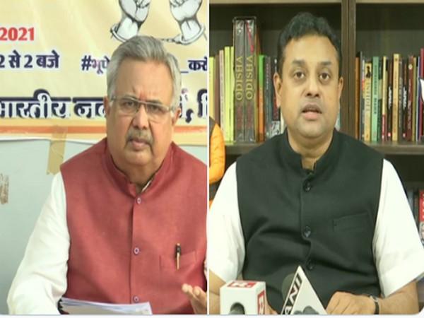 Chhattisgarh HC gives interim relief to Raman Singh, Sambit Patra in 'toolkit' case (Photo/ANI)