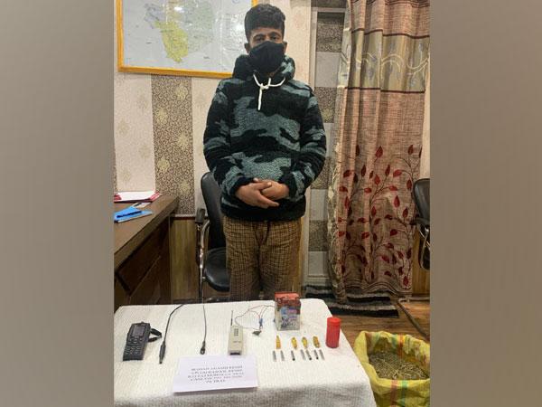 Accused Irshad Ahmad Reshi