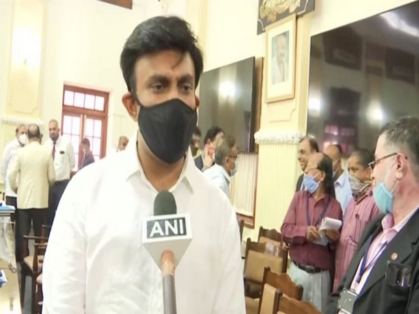Karnataka Medical Education Minister Dr K Sudhakhar (File Photo)