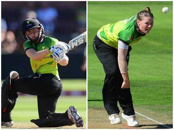 Heather Knight (L) and Anya Shrubsole (R) (Photo/Western Storm)