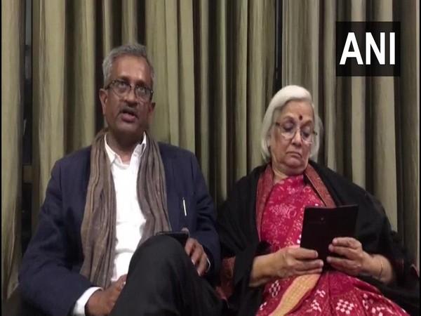Sanjay Hegde (left) and Sadhna Ramachandran (right)