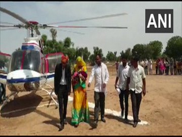 For the helicopter ride, the family spent around Rs 5 lakh which they managed to arrange by selling their crops.