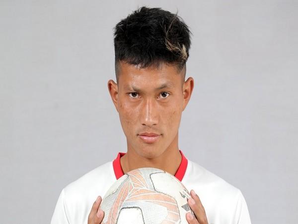 TRAU FC forward Seiminmang Manchong (Image: I-League's twitter)