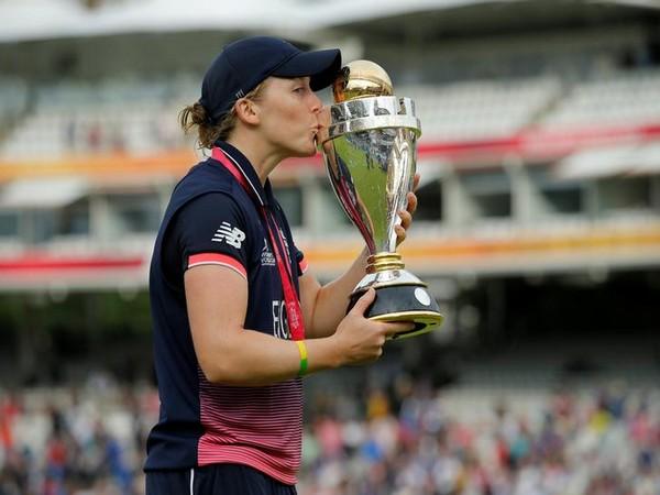 England cricketer Heather Knight