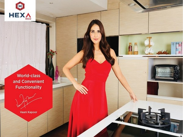 Vaani Kapoor's glamorous look while shooting for Hexa Kitchens