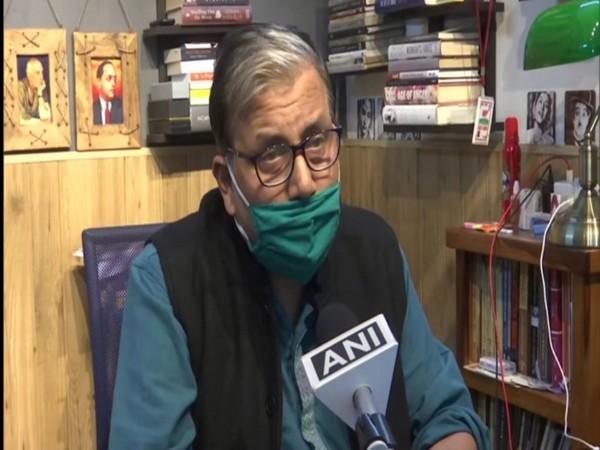 RJD MP Manoj Jha [Photo/ANI]