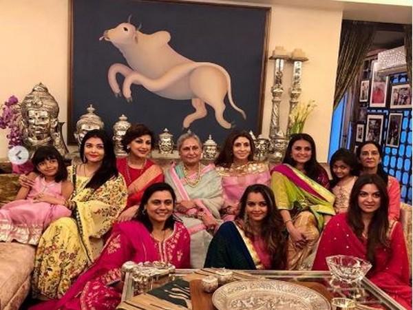 Sonali Bendre, Aishwarya Rai Bachchan, Jaya Bachchan and Shweta Bachchan (Image courtesy: Instagram)