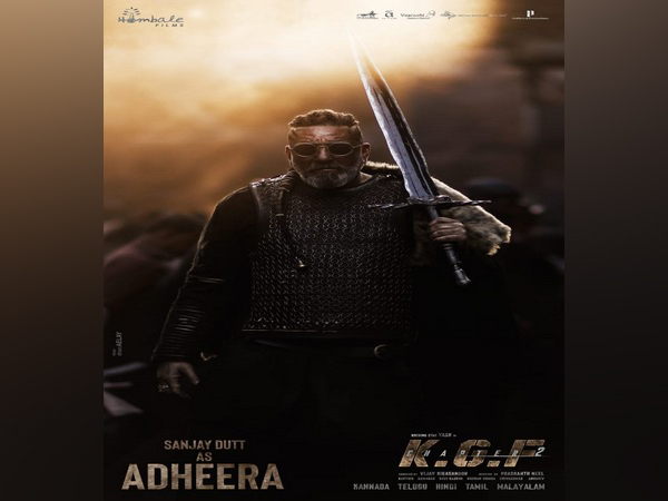 Sanjay Dutt as Adheera (Image source: Instagram)