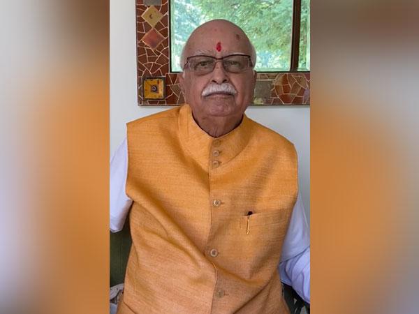 Senior BJP leader Lal Krishna Advani.