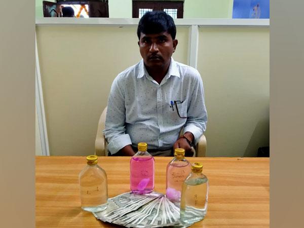 Arrested accused, Bhukya Madhukar (Photo:ANI)