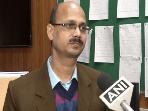 Kuldeep Srivastava, Head, India Meteorological Department (Photo ANI)