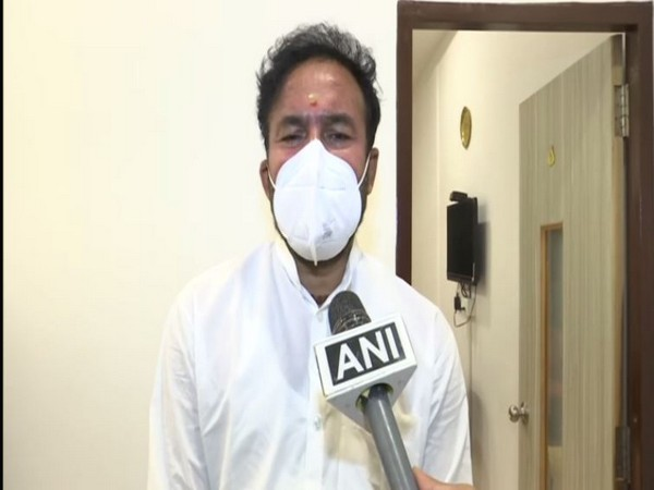 Union Minister of State for Home Affairs G Kishan Reddy (Photo/ANI)