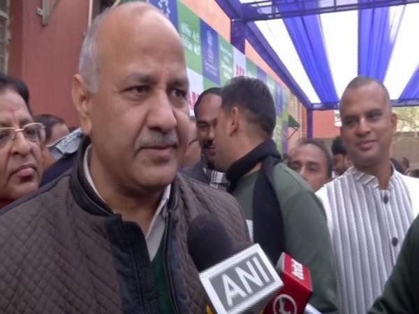Delhi Deputy Chief Minister Manish Sisodia in New Delhi on Tuesday. Photo/ANI