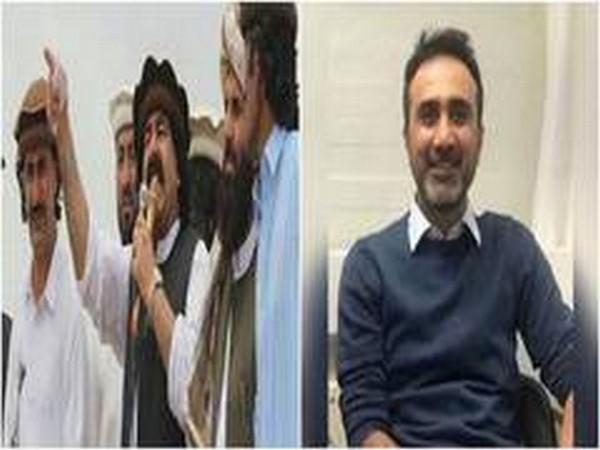 Arif Wazir, leader of Pashtun Tahafuz Movement and Sajid Baluch