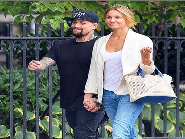 Benji Madden with Cameron Diaz (Image courtesy: Instagram)
