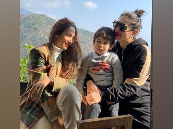 Malaika Arora, Kareena Kapoor, Taimur Ali Khan (Image courtesy: Instagram)