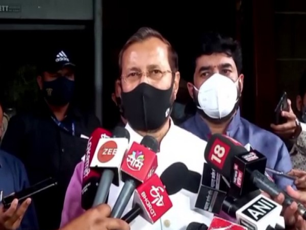 Union Minister, Prakash Javadekar (Photo/ANI)