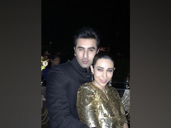 Ranbir Kapoor and Karisma Kapoor (Image courtesy: Instagram)