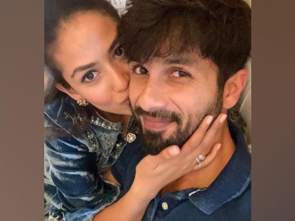 Shahid Kapoor with his wife Mira Kapoor (Image Source: Instagram)