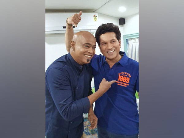 Sachin Tendulkar and Vinod Kambli (Photo/ Sachin Tendulkar Twitter)