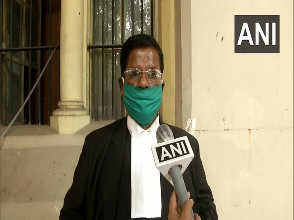 Rama Prasad Sarkar, Calcutta High Court lawyer speaking to ANI on Wednesday. (Photo/ANI)
