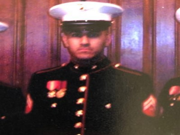 US Marine Veteran officer Mansoor T. Shams (Photo source: Twitter)