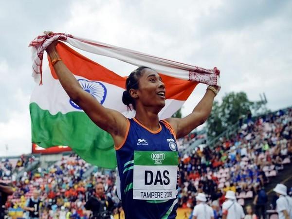 Indian sprinter Hima Das