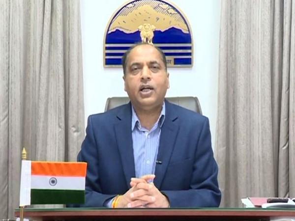 Himachal Pradesh Chief Minister Jai Ram Thakur. (File Photo/ANI)