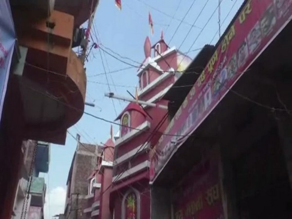 A replica of Hinglaj Mata Temple has been set up in Garhwa district of Jharkhand. (Photo/ANI)