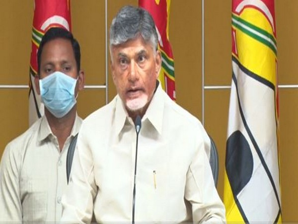 Telugu Desam Party (TDP) chief Chandrababu Naidu (file pic/ANI).
