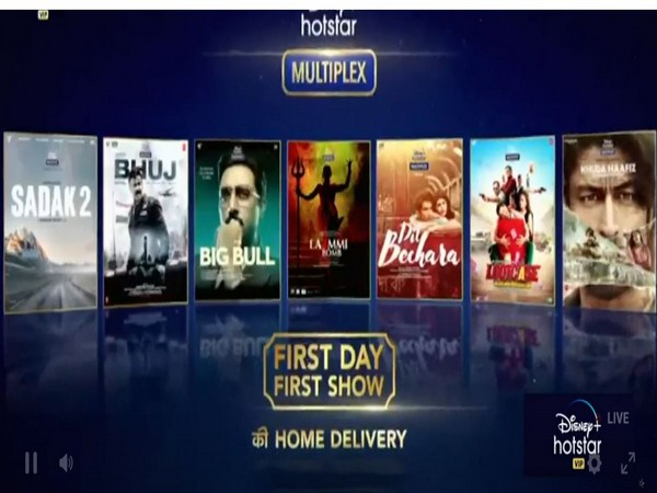 The films to be released on 'Disney+Hotstar VIP Multiplex' (Image courtesy: Twiitter)