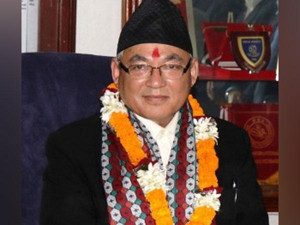 Nepal's Home Minister Ram Bahadur Thapa
