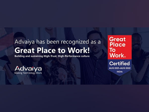 Advaiya Solutions - Great Place to Work 2021-2022