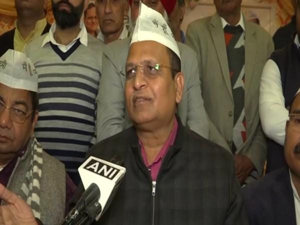 Delhi health minister Satyendra Jain