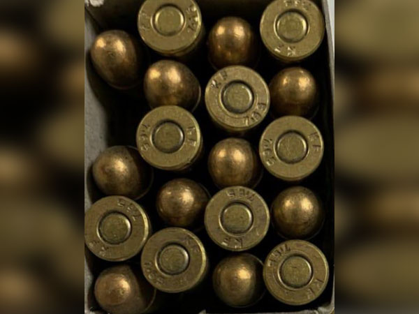 CISF recovers 20 live rounds of 7.65mm calibre at IGI Airport (Photo/ANI)