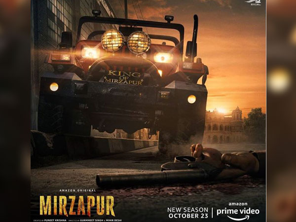 Poster of Mirzapur 2 (Image courtesy: Instagram)
