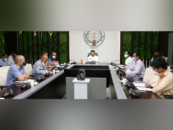 Andhra Pradesh Chief Minister YS Jagan Mohan Reddy holding a meet on Monday over COVID-19 situation.